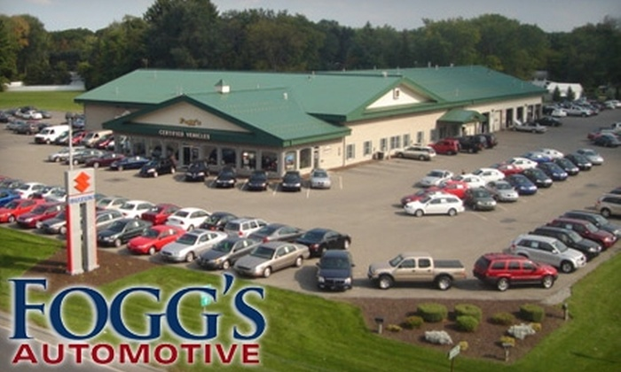 Fogg's Automotive & Suzuki - Glenville: $4 for a New York State Inspection and Emissions Test at Fogg's Automotive & Suzuki ($21 Value)
