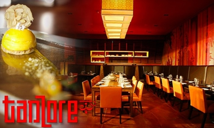 Tanzore - Beverly Hills: $25 for $55 Worth of Contemporary Indian Cuisine and Drinks at Tanzore in Beverly Hills