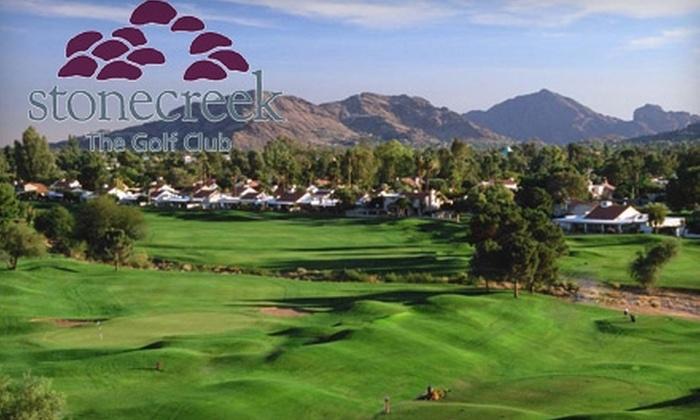 Stonecreek Golf - Paradise Valley: $25 for a Practice Range Card at Stonecreek Golf Club