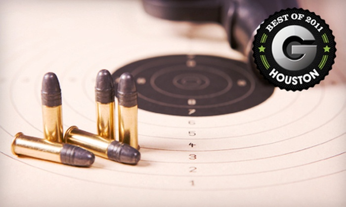 The Arms Room - League City Retail Center: Shooting-Range Outing with Range Fees and Ammo for One or Two at The Arms Room in League City (Up to 63% Off)
