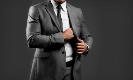 Custom-Tailored Super 150s Suit Package (a $1,500 value) - Custom Men in Manhattan