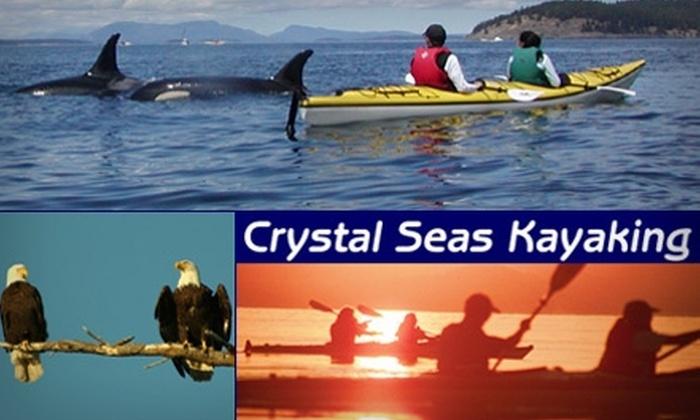 Crystal Seas Kayaking - San Juan: $45 for a Three-Hour San Juan Island Kayaking Tour from Crystal Seas Kayaking ($81 Value)
