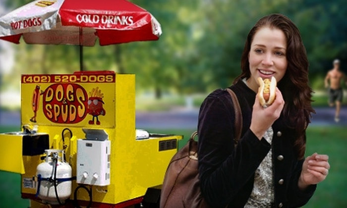 Dogs & Spuds - Lincoln: $4 for $8 Worth of Hot Dogs and More at Dogs & Spuds
