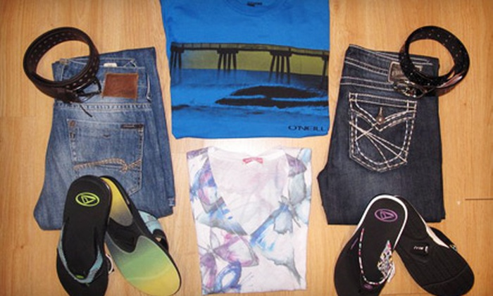 Cottons and Blues - Sidney: $25 for $50 Worth of Jeans and Casual Apparel at Cottons and Blues
