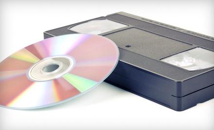 Three Videotape-to-DVD Transfers (a $59 value) - Denevi Digital Imaging in Hayward