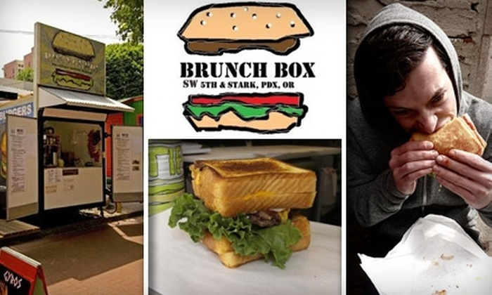 Brunch Box - Downtown: $3 for $6 Worth of Food-Cart Fare at Brunch Box