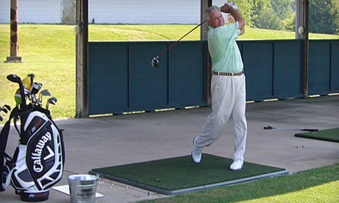 Cadillac Golf Ranch - Sterling: $20 for Three Hours of Unlimited Range and Practice-Facility Access at Cadillac Golf Ranch in Pineville ($45 Value)