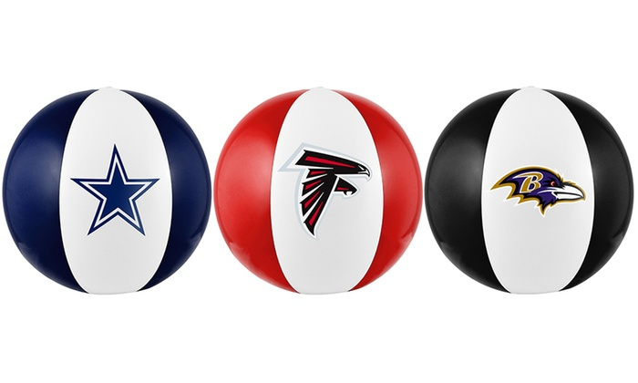 NFL Inflatable Beach Balls (2-Pack)