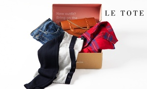 Up to 51% Off Classic Fashion Subscription to Le Tote  at Le Tote, plus 6.0% Cash Back from Ebates.