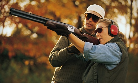 Sporting Clays Shooting Package for Two, Valid Weekdays (up to an $88 total value) - Golden Gun Club in Watkins