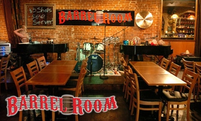 The Barrel Room, Rockin' Show Bar - Old Town - Chinatown: $25 for Four Admission Tickets and a Reserved Table at The Barrel Room, Rockin' Show Bar ($50 Value)
