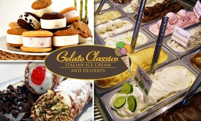 Gelato Classico - Campbell: $4 for $8 Worth of Gelato, Café Beverages, and More at Gelato Classico