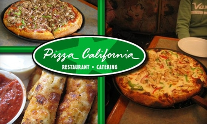 Pizza California - Carmine - Parkmont: $10 for $20 Worth of Pies, Drinks & More at Pizza California