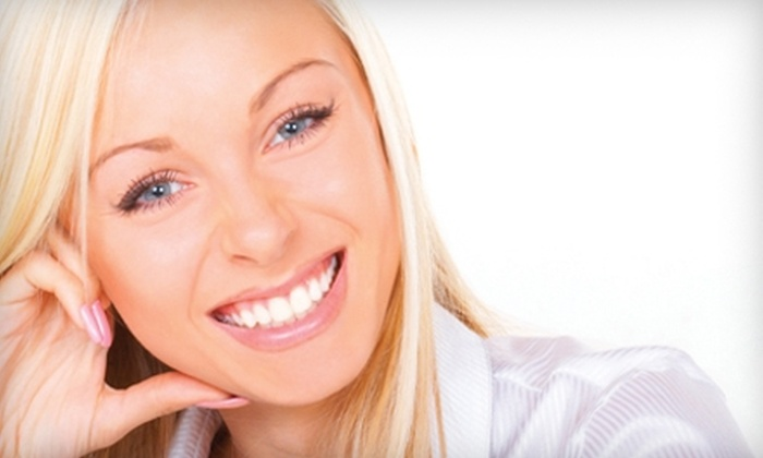 EMA Dental - Multiple Locations: Teeth Whitening and Dental Services at EMA Dental. Two Options Available.