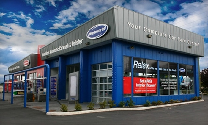 Lubeworld/Washworld - Multiple Locations: $22 for an Oil Change ($45 Value) or $6 for an Xtreme Typhoon Car Wash (Up to $20 Value) from Lubeworld/Washworld
