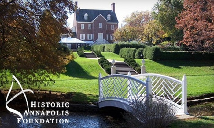 Annapolis by Candlelight Tour - Annapolis: $15 for Admission to Annapolis by Candlelight Tour from the Historic Annapolis Foundation On November 5 or 6 (A $30 Value)