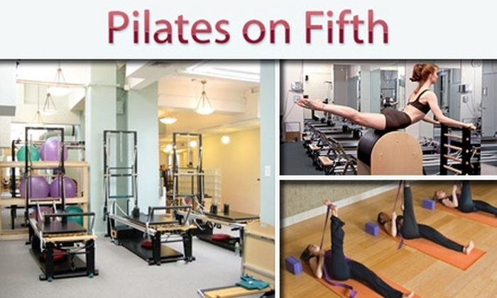 Pilates on Fifth - Midtown South Central: $45 for Five Mat or Three Equipment Classes at Pilates on Fifth (Up to $105 Value)