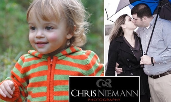 """Chris Niemann Photography - Raleigh / Durham: $50 for a One-Hour Portrait Session, Five 5""""x7"""" Prints, and One 11""""x14"""" Print from Chris Niemann Photography ($200 Value)"""
