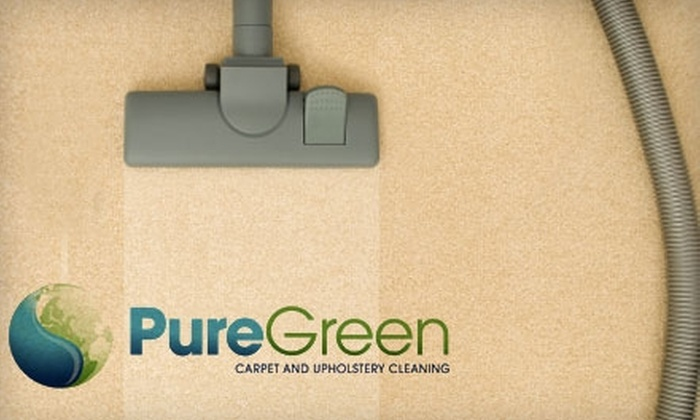 PureGreen Carpet & Upholster Cleaning - North Jersey: $75 for $150 Worth of Eco-Friendly Carpet, Tile, and Upholstery Cleaning Services from PureGreen