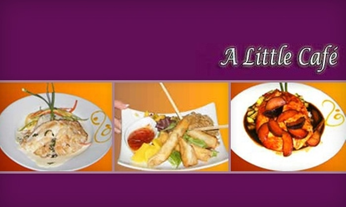 A Little Café - Voorhees: $17 for a French-Asian Fusion Three-Course Meal at A Little Café in Voorhees ($35 Value)