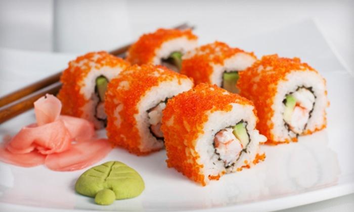 Shogun Japanese Grill & Sushi Bar - The Villages At Rosenberg: $10 for $20 Worth of Hibachi Fare and Sushi at Shogun Japanese Grill & Sushi Bar in Rosenberg