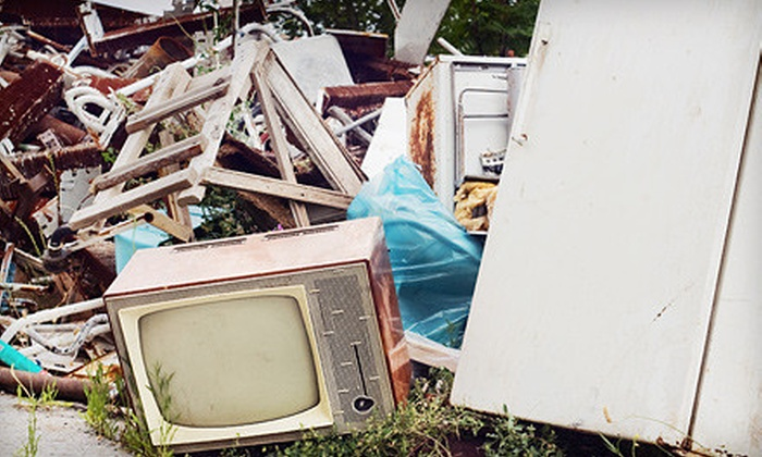 Ca$h 4 My Clutter - Cameron Crossing: $89 for a Half-Trailer of Junk Removal from Ca$h 4 My Clutter ($310 Value)