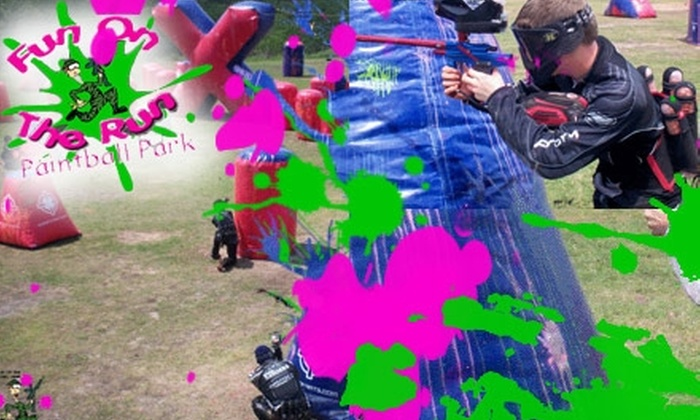 Fun on the Run Paintball Park - Fort Worth: $22 for All-Day Admission, Gear Rental, and 500 Paintballs at Fun on the Run Paintball Park ($45 Value)