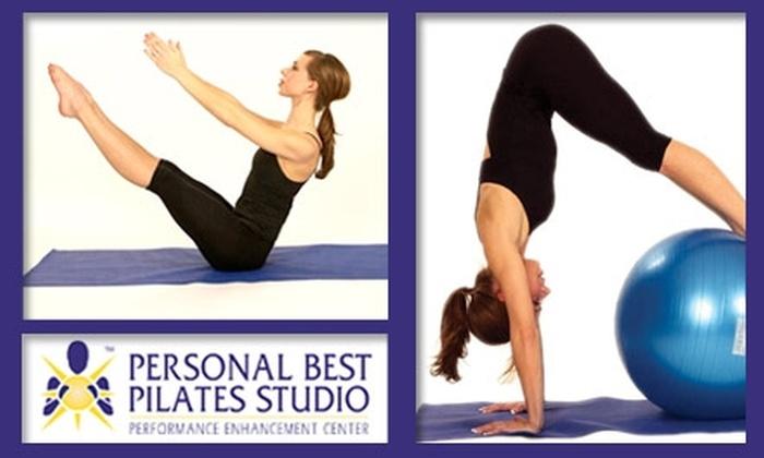 Personal Best Pilates Studio - Overland Park: $49 for 10 Pilates Classes at Personal Best Pilates Studio