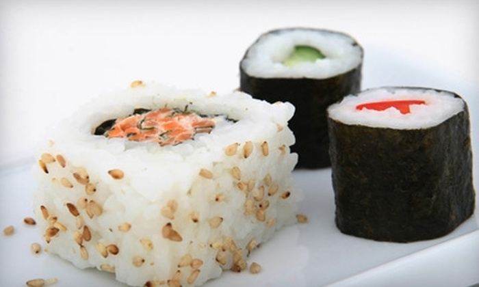 Sake Japanese Bistro - Downtown Columbia: $20 for $40 Worth of Sushi, Martinis, and More During Dinner at Sake Japanese Bistro
