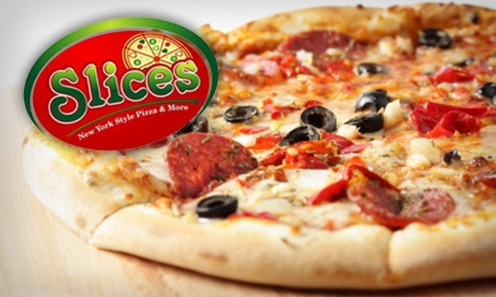 Slices New York Pizza - Sherman Oaks: $10 for a Large Pizza with Two Toppings or a Large Specialty Pizza at Slices New York Pizza ($20 Value)