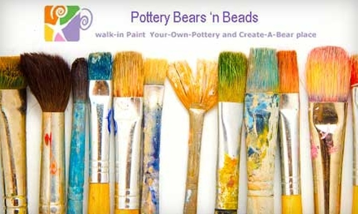 Pottery Bears 'n Beads - Largo: $12 For $24 Toward Paint-Your-Own-Pottery at Pottery Bears 'n Beads in Clearwater