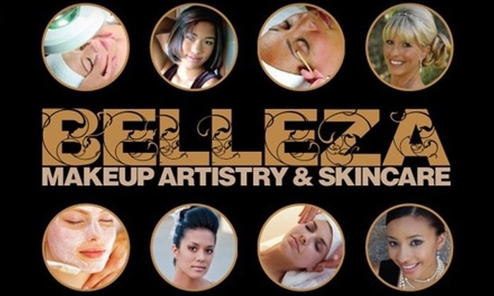 Belleza Makeup Artistry & Skincare - Multiple Locations: $60 for Any Facial, Plus Hand and Feet Masking Treatment at Belleza Makeup Artistry & Skincare