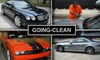 Going-Clean - Dallas: $35 for Going-Clean Mobile Detailing Executive Wash