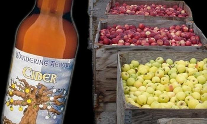 Wandering Aengus Ciderworks - Salem: $5 for a Nine-Cider Tasting for Two at Wandering Aengus Ciderworks ($10 Value)