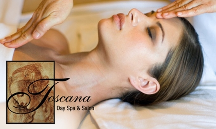 Toscana European Salon & Day Spa - Back Bay: Spa and Salon Services at Toscana European Salon & Day Spa. Two Options Available.