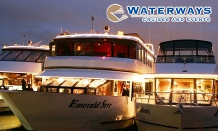 Waterways Cruises - Multiple Locations: $45 for a Friday or Saturday Dinner Cruise ($80 Value) or $29 for a Sunday Brunch Cruise ($53 Value) on Lake Washington from Waterways Cruises