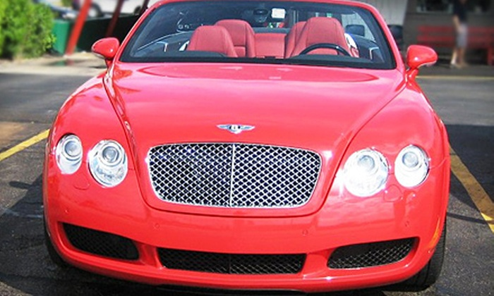 Top Hat Car Wash - West Palm Beach: $9 for a SuperSaver Plus Car Wash at Top Hat Car Wash in West Palm Beach (Up to $20 Value)