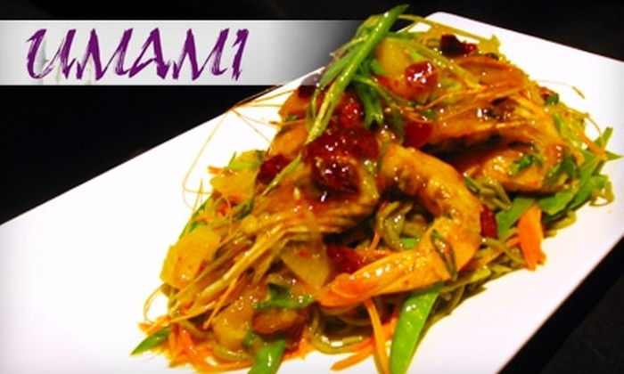 Umami Asian Kitchen - Chagrin Falls: $20 for $40 of Japanese & Asian-Fusion Cuisine from Umami Asian Kitchen