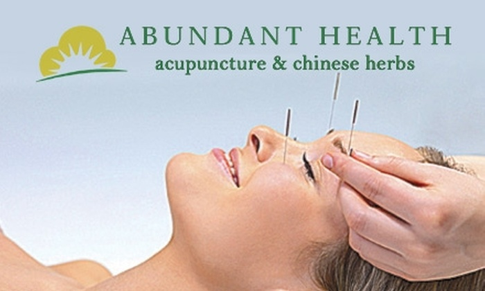 Abundant Health Acupuncture & Chinese Herbs - New Tacoma: $29 for a One-Hour Acupuncture Treatment at Abundant Health Acupuncture & Chinese Herbs ($85 Value)