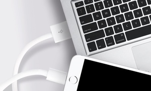 6-Foot Apple-Certified Lightning Cable for iPhone (1-, 2-, or 3-Pack) at 6-Foot Apple-Certified Lightning Cable for iPhone (1-, 2-, or 3-Pack), plus 9.0% Cash Back from Ebates.