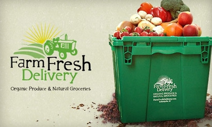Farm Fresh Delivery - Indianapolis: $15 for $35 Worth of Organic Groceries Delivered to Your Door by Farm Fresh Delivery