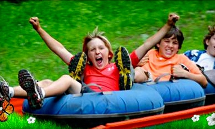 Chicopee Tube Park - Centreville Chicopee: Admission to Chicopee Tube Park in Kitchener. Three Options Available.