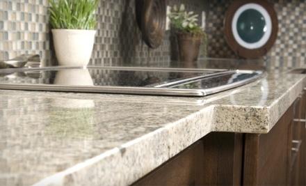 Surfaces: $150 Groupon Toward a Granite or Marble Bathroom-Vanity-Top Order - Surfaces in Bixby