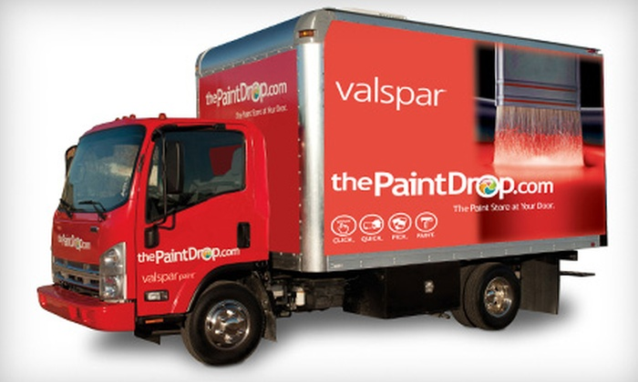 The Paint Drop - Hill Country Village: $40 for $85 Worth of Paint with Delivery and Color Consultation from The Paint Drop