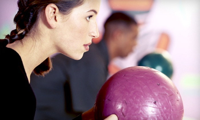 Star Zone Bowling - Norcross: Two-Hour Bowling Outing for 6 or 12 with Shoes, Pizza, and Soda at Star Zone Bowling in Duluth (Up to 71% Off)