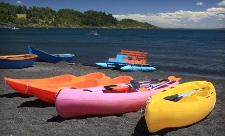 Gyro Beach Watersports: 60-Minute Single-Kayak Rental - Gyro Beach Watersports in Kelowna
