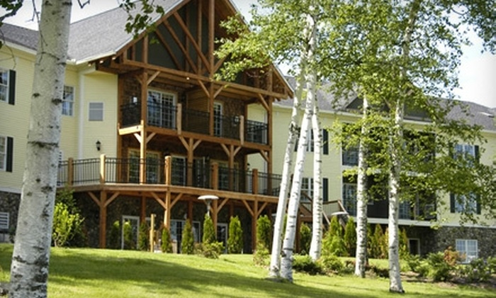 Mountain Edge Resort & Spa - Mt. Sunapee: $399 for Two-Night Spa Getaway for Two at Mountain Edge Resort & Spa in Mt. Sunapee