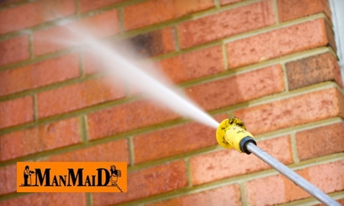 Man Maid - Knoxville: $44 for One Hour of Window Washing, Gutter Cleaning, or Power Washing from Man Maid ($89.99 Value)