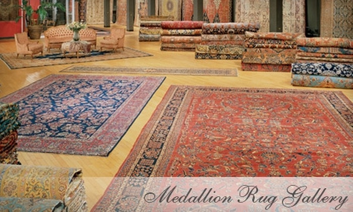 Medallion Rug Gallery - Downtown North: $150 for $400 Worth of Merchandise at Medallion Rug Gallery in Palo Alto