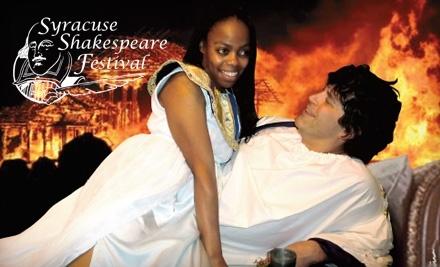 Syracuse Shakespeare Festival: